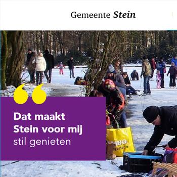 Uitsnede website gemeente Stein | Toptaken website