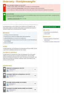 Voorbeeld pagina kennisbank gemeente Vianen