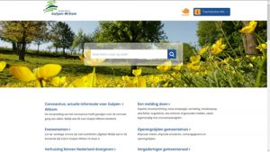 Thumbnail screenshot website gemeente Gulpen-Wittem | Toptaken website