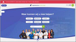Voorbeeld Toptaken website HagaZiekenhuis van Den Haag