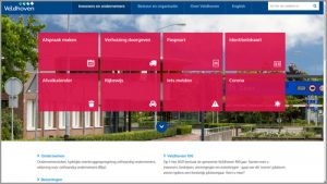 Thumbnail homepage Toptaken website gemeente Veldhoven | Toptaken website